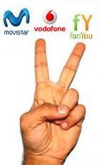 Movistar y Vodafone ofrece una 'segunda línea' con la tecnología de fonYou