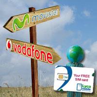 Lycamobile y GT Mobile cambian a Movistar por Vodafone