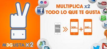Euskaltel duplica los megas de M3GUSTA a clientes con al menos dos móviles