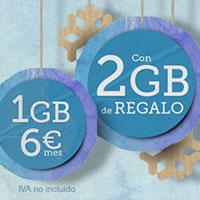 Tuenti Móvil regala 2GB por Navidad